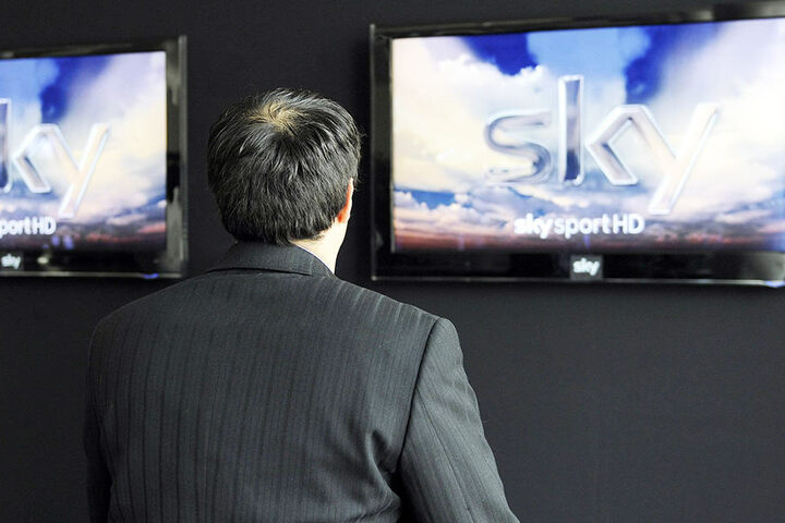 Auch der große deutsche Pay-TV-Anbieter Sky ist betroffen.