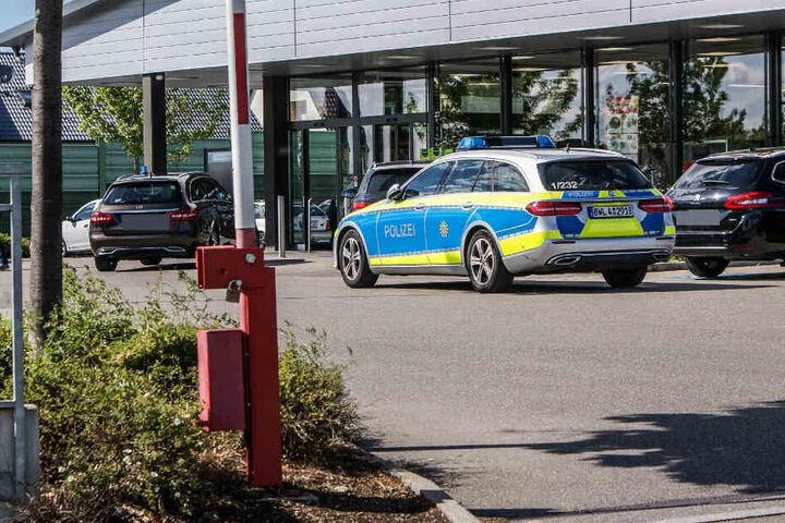 Die Polizei konnte beide Supermarkt-Räuber festnehmen.
