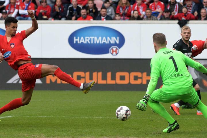Kölns Keeper Horn wurde am Sonntag kaum geprüft.