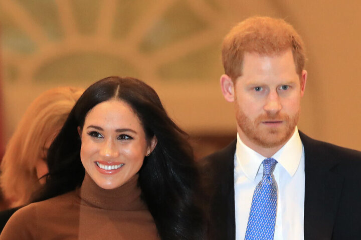 Meghan und Harry Anfang des Jahres in Kan