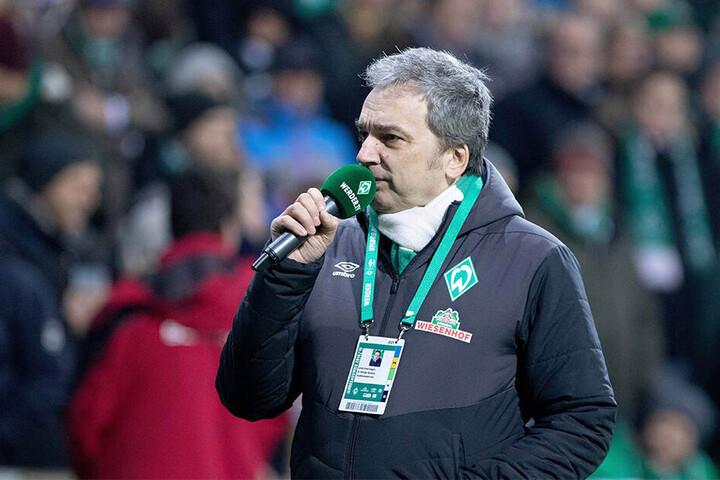 Wahr gewordener Kindheitstraum: Der Werder-Bremen-Fan ist seit 2001 Stadionsprecher im Weserstadion.
