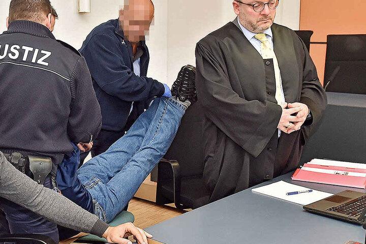 Der Beschuldigte wollte zum Prozess am Dienstag nicht erscheinen.