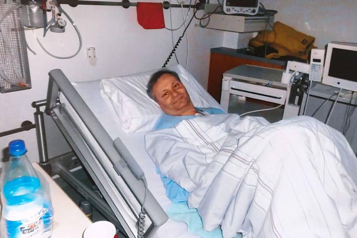 Großes Vertrauen: Otto war sich sicher, dass  er nach seiner Transplantation wieder aufwacht.