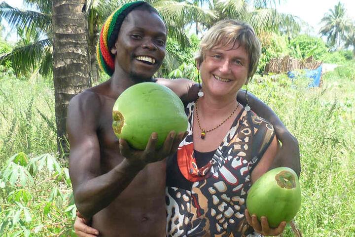 Mit der Freundschaft zum jungen Kassim begann Beate Försters Engagement in  Afrika.