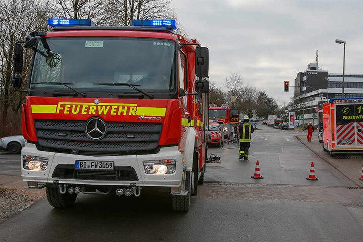 Die Feuerwehr rückte mit 31 Einsatzkräften an.