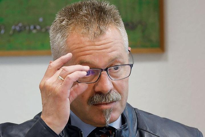 Ordnungsbürgermeister Miko Runkel (56, parteilos) konzentriert den Stadtordnungsdienst in der City.