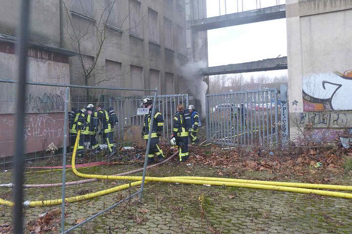Der Brandherd war im Keller schnell ausgemacht.