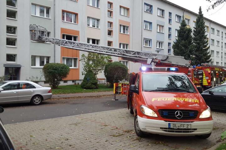 Nach den Löscharbeiten hat ein Brandursachenermittler seine Arbeit aufgenommen.