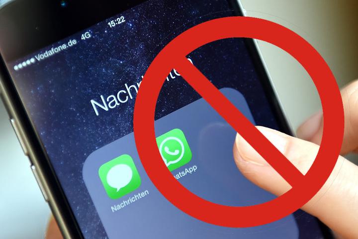 Es lassen sich keine WhatsApp-Nachrichten mehr verschicken.