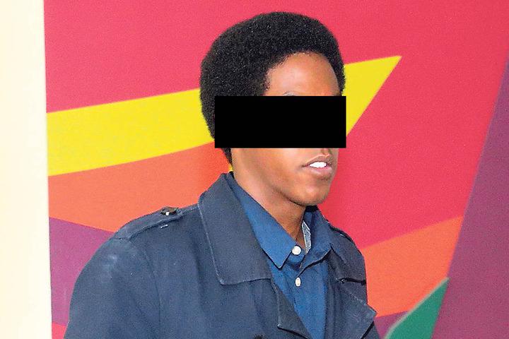 Yohannes S. (20) will keine Drogen mehr verkaufen, macht stattdessen sein  Abitur.
