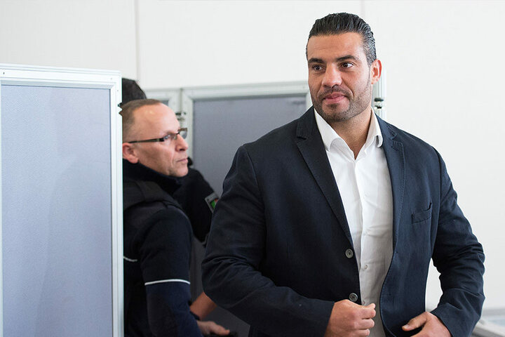 Profi-Boxer Manuel Charr am 3. März im Landgericht Essen.