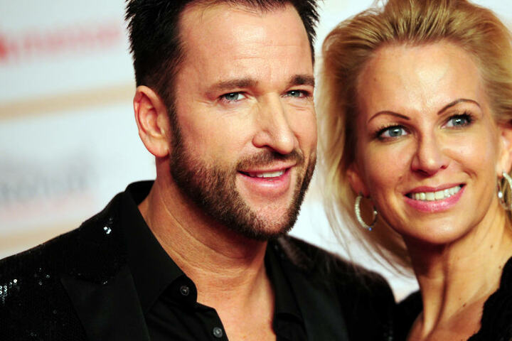 Der Schlagersänger mit seiner Ex-Frau Claudia Norberg im Jahr 2016.