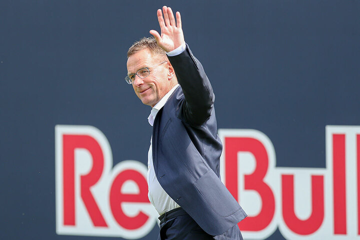 RB-Sportdirektor Ralf Rangnick setzte dem Wechsel-Wirr-Warr erneut ein Ende.