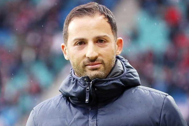 Domenico Tedesco wechselte als Trainer von Aue zu Schalke 04.
