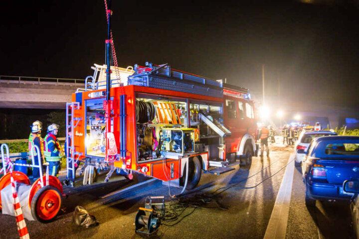Drei Menschen starben bei dem Unfall.