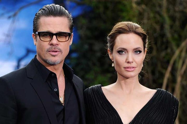 Bei der Premiere von Maleficent im Jahr 2016 waren Angelina Jolie und Brad Pitt noch ein Paar.