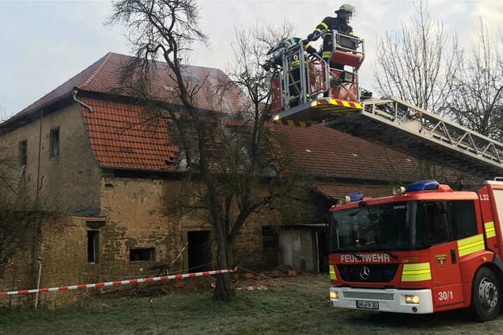 Ein Großaufgebot der örtlichen Feuerwehren kam zum Einsatz.