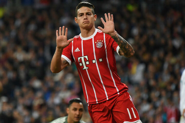 James Rodríguez ist aktuell von Real Madrid an den FC Bayern München ausgeliehen.