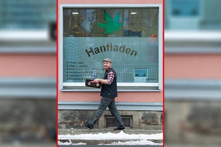 Begehrte Köstlichkeit: 170 Hanf-Stollen hat Norman Schirmer verkauft - und damit dreimal so viele wie im Vorjahr.