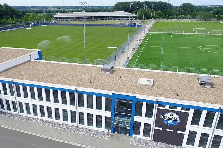 Das Technische Leistungszentrum bietet optimale Voraussetzungen für den Drittligisten.
