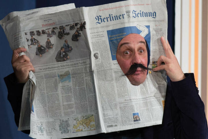 """Echtes Berliner Kabarett: in """"Die Stachelschweine"""" (Foto aus dem Jahr 2014)"""
