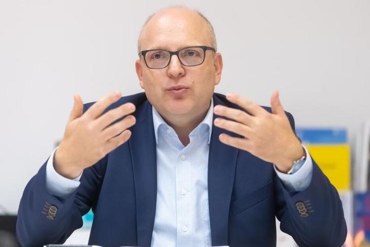 Kämmerer Sven Schulze (47, SPD) will neuer OB werden.