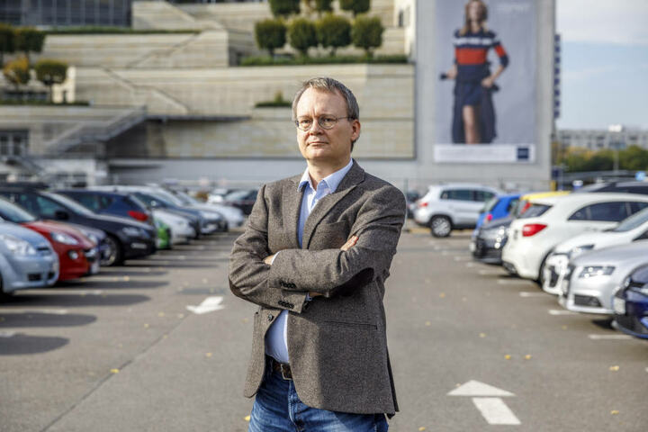 Stadtrat Tilo Wirtz (51, Linke) besteht auf einem fairen Kaufpreis.