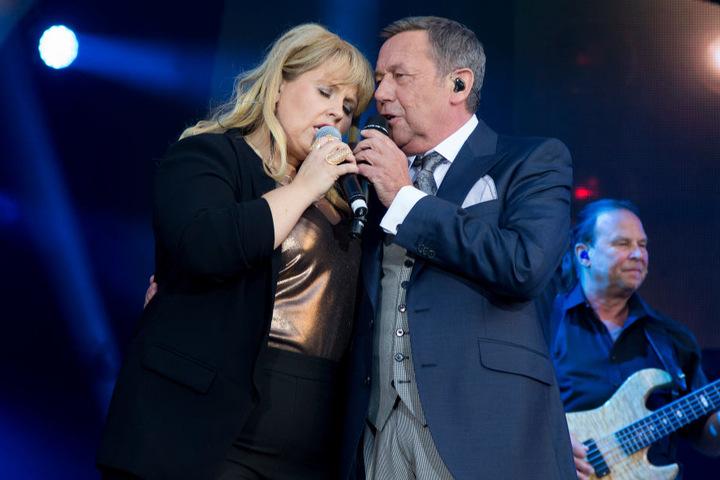 Noch im Sommer stand Maite Kelly (36) gemeinsam mit Roland Kaiser (64) in Dresden auf der Bühne.