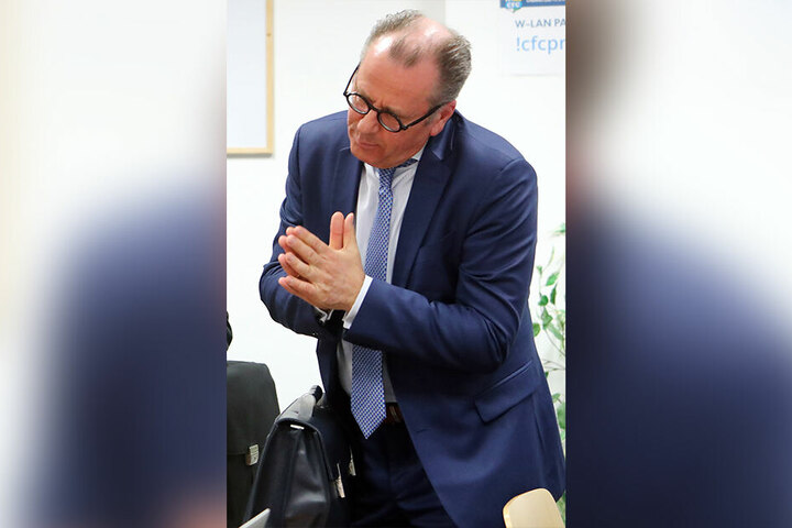 War nicht zur Versammlung anwesend: Insolvenzverwalter Klaus Siemon.