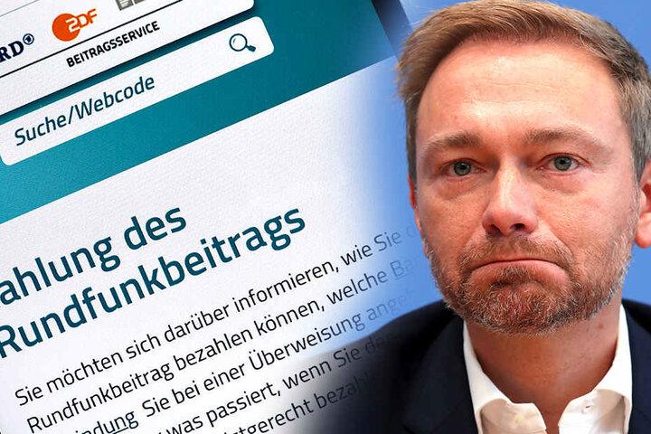 """""""Der Rundfunkbeitrag müsste nicht erhöht werden, wenn die Sender sich auf den Kern des Programmauftrags konzentrieren und effizienter wirtschaften. Einfach erhöhen ist geradezu respektlos. CL"""", schrieb FDP-Chef Lindner Ende Dezember auf Facebook."""