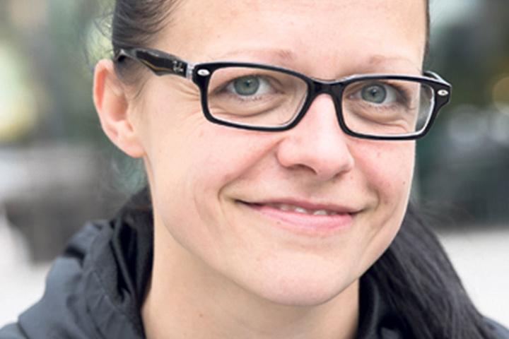 """Josephin Rudnik (33),Krankenschwester aus Rostock, ist noch unsicher, hat aber ein Ziel: """"Ich werde so wählen, dass die AfD nicht zum Zug kommt. Beim Wahl-O-Mat war es bei mir Die Partei. Ich weiß es aber noch nicht konkret,was ich wählen werde."""""""