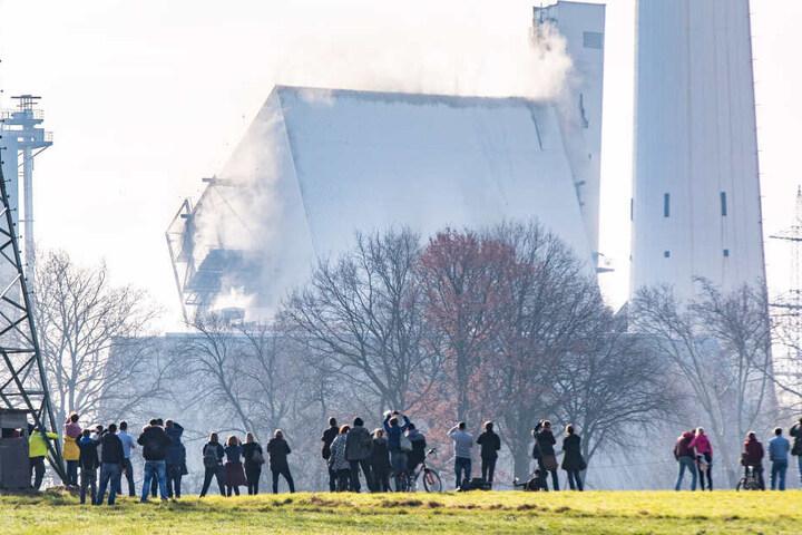Für die Sprengungen wurden 200 Kilo Sprengstoff benötigt.