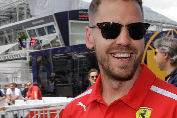 Sebastian Vettel kämpft mit Ferrari um die Weltmeisterschaft in der Formel 1.