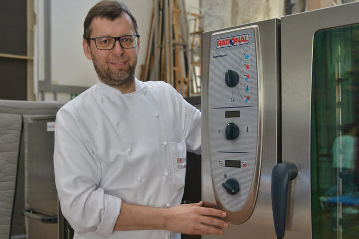 Für das Galamenü ist Chefkoch Roland Keilholz verantwortlich.