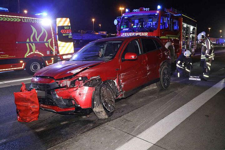 Der Unfallfahrer (65) verstarb wenig später im Krankenhaus.