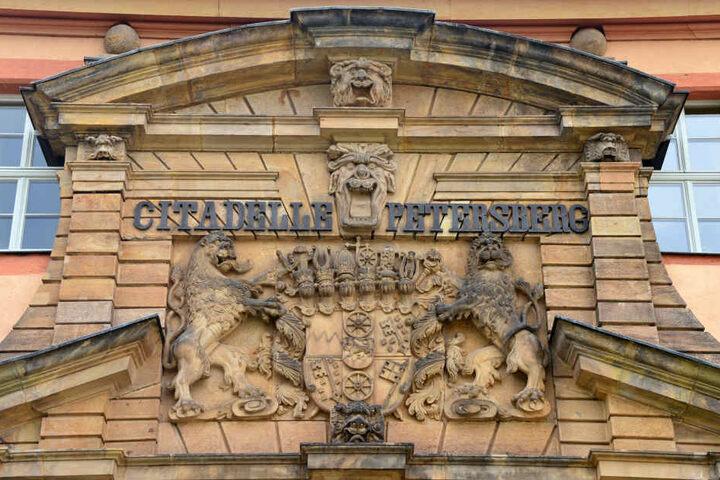 Bis zur BUGA sollen die Arbeiten am Petersberg abgeschlossen sein.