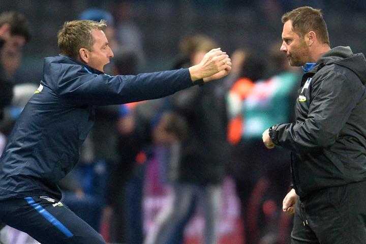 Erfolgreiches Duo: Widmayer und Dardai.