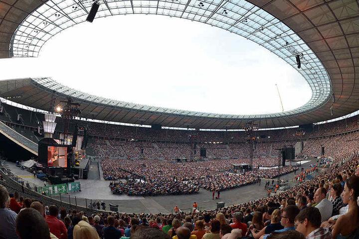 Lang ist's her - Weltrekordzeiten: 07.06.2014 im Olympiastadion in Berlin.