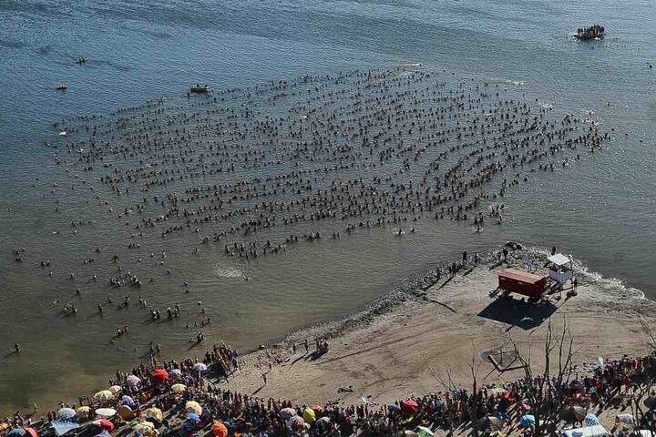 Den alten Weltrekord von 643 Menschen übertrafen die Argentinier bei weitem.