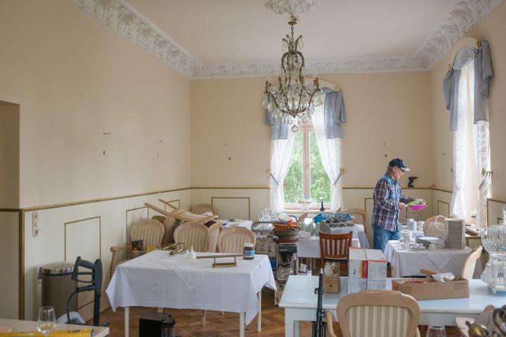 Der alte Frühstücksraum wird ab Ende Mai wieder als Restaurant genutzt.