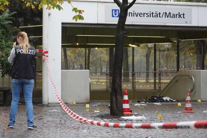 Bei einer Prügelei am Hofgarten im September 2018 wurden vier Männer schwer, einer davon lebensgefährlich verletzt.