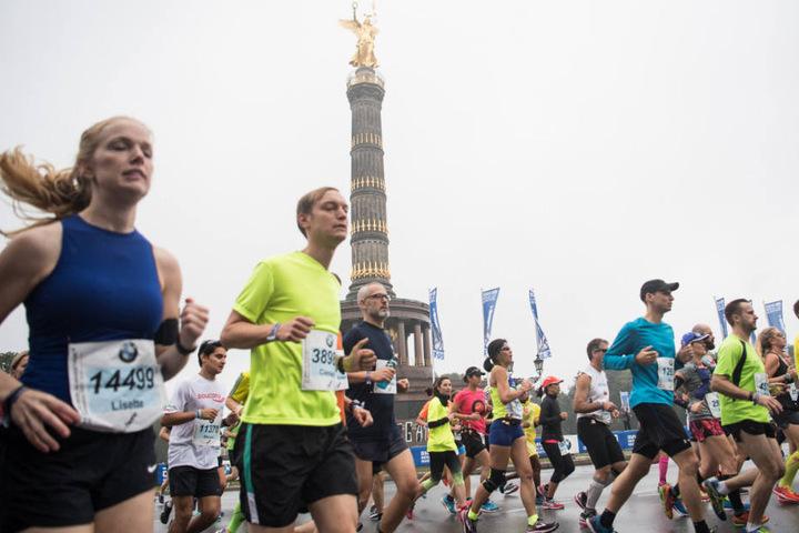 Im letzten Jahr musste die Läufer bei schlechteren Wetterbedingungen gegeneinander antreten.