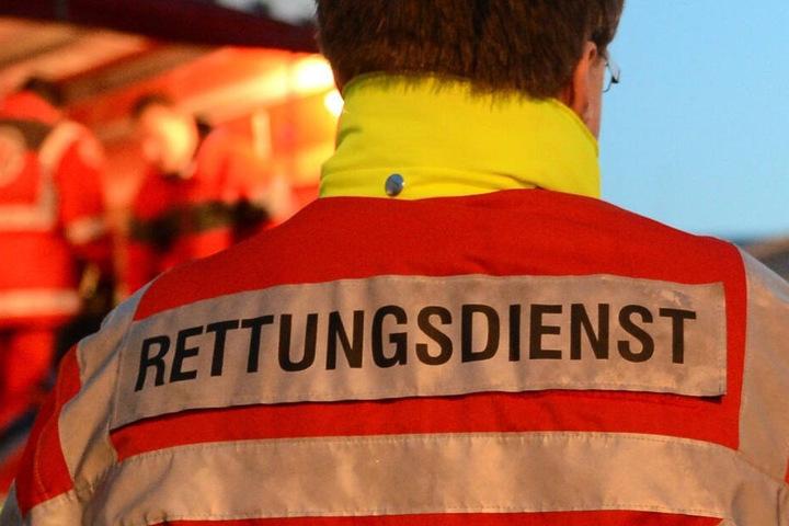 Auch die Radfahrerin in Waldenburg wurde schwer verletzt und kam ins Krankenhaus. (Symbolbild)