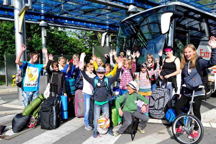 """Mehr als 30.000 Kinder schickten die """"Verreiser"""" schon in die Ferien. (Archivbild)"""