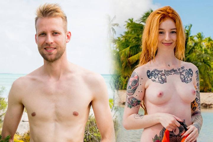 Jacob (27, Grafikdesigner aus Rostock) und Anna (23, Friseurin und Make-Up-Artist aus Österreich).