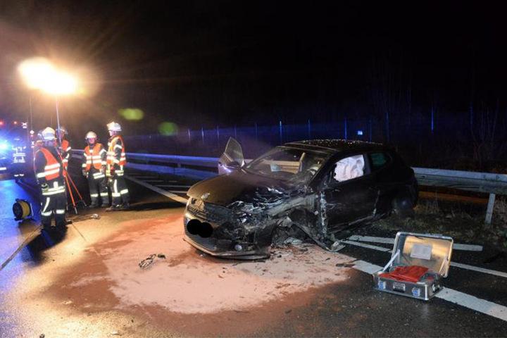 Ingesamt wurden fünf Personen bei dem Unfall verletzt.