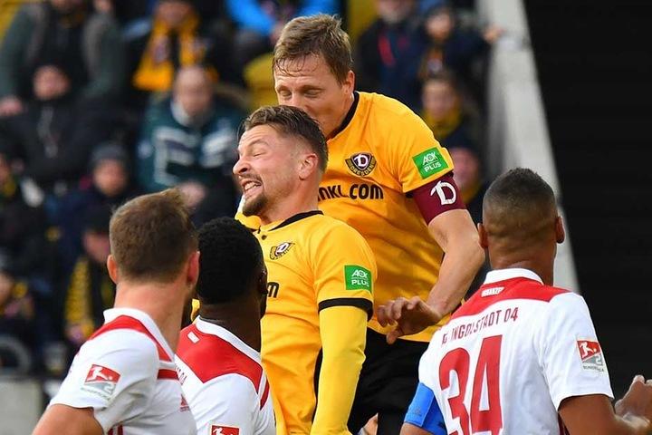 Im Spiel gegen Ingolstadt hatte sich Hartmann einen Rippenbruch zugezogen.