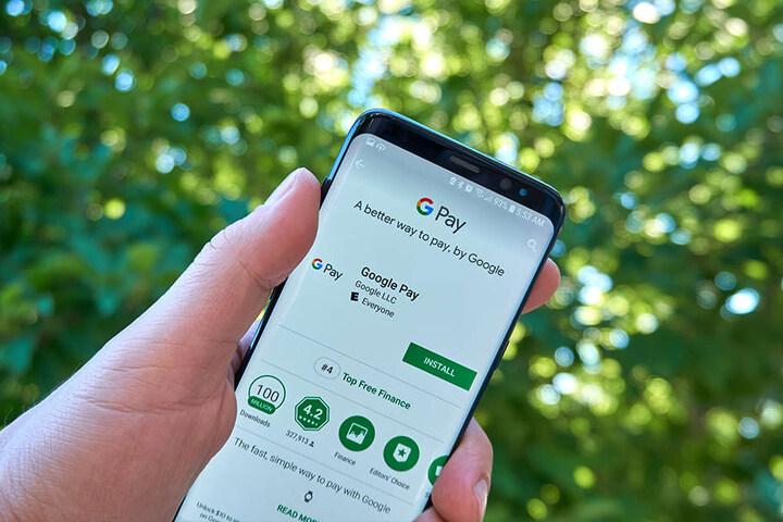 Akzeptiert werden zur Bezahlung Google Pay und Apple Pay.