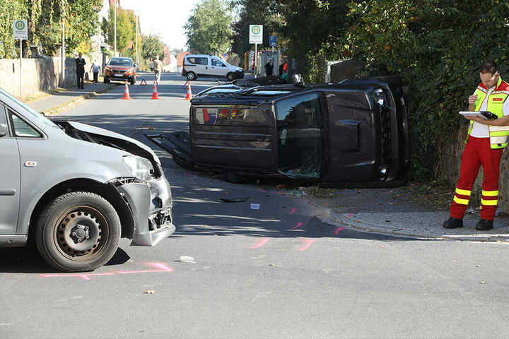 Vermutlich hatte der Caddy-Fahrer den Suzuki übersehen.
