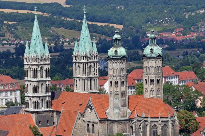 Auch der Naumburger Dom zählt seit einem Jahr zum Unesco-Kulturerbe.